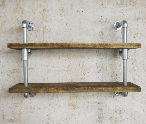 Hand Made Wall Shelf Industrial Bookcasescaffolding By Urbdes 木工品 木工