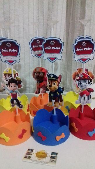 Fiesta de cumplea os de la patrulla canina patrulla - Decoracion de la patrulla canina ...