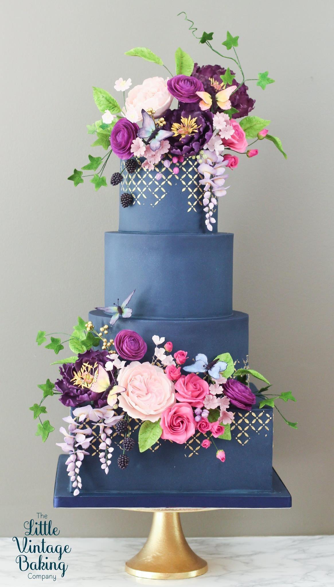 The little vintage baking company cakesthetics pinterest cake