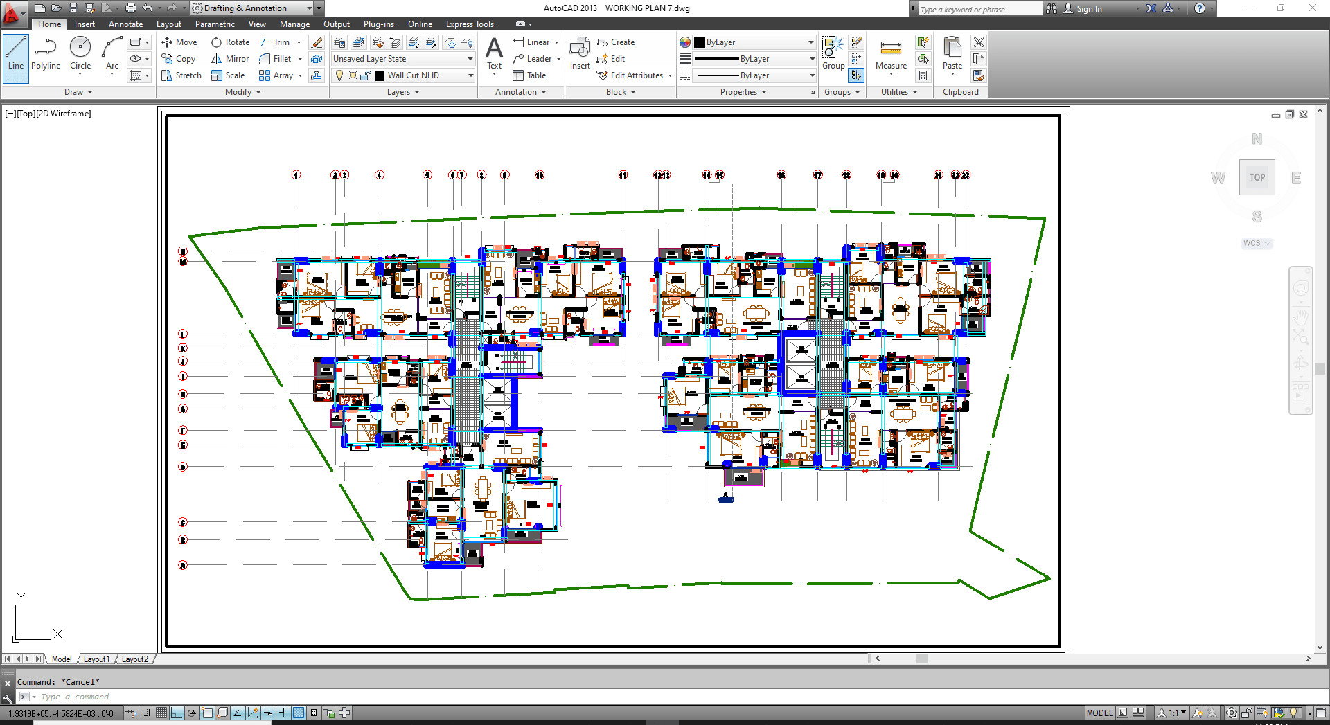 I Will Make 2d Drawings And Floor Plan By Autocad And Photoshop Ad Ad Floo In 2020 Autocad How To Plan Floor Plans