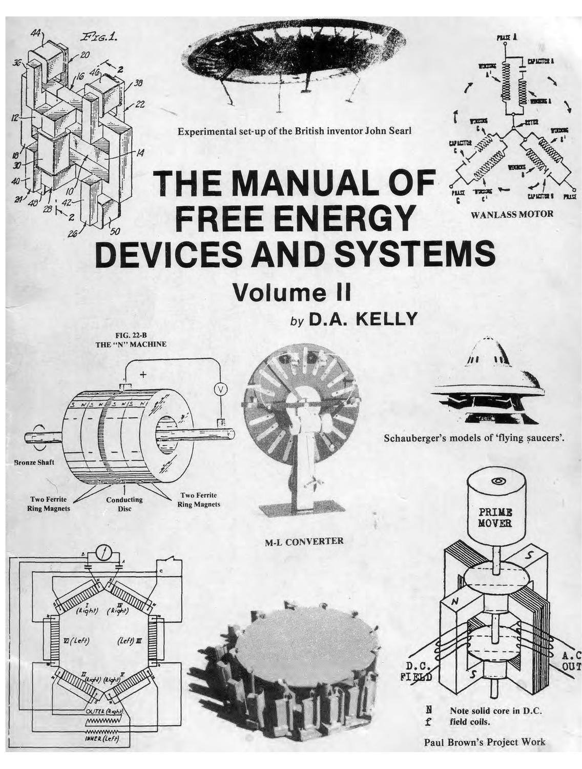 The Manual Of Free Energy Devices And Systems In 2020 Free
