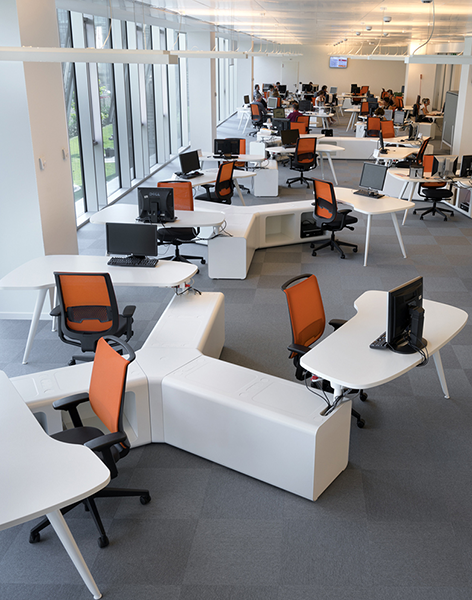 The Project For Ing Bank In Milan Involved Installation And