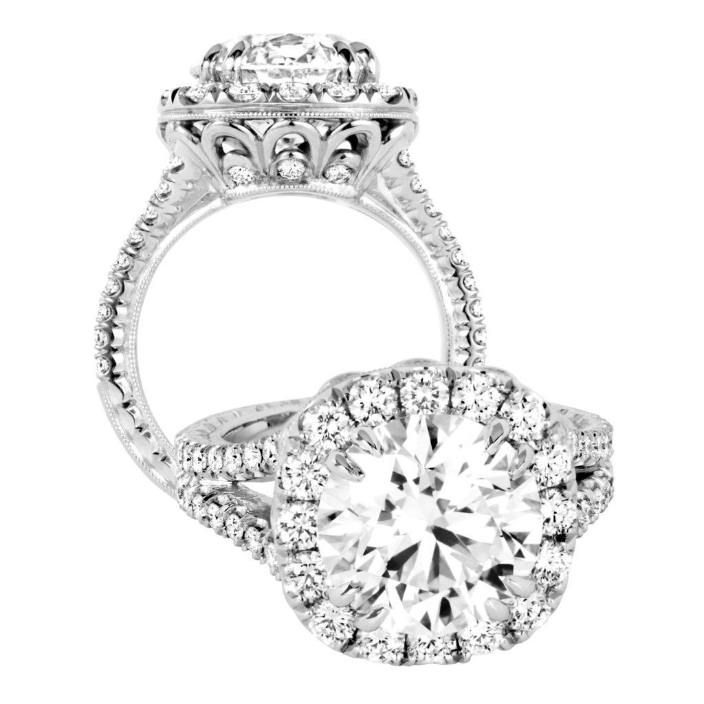 KPR 777 Platinum Engagement Ring Fashion rings