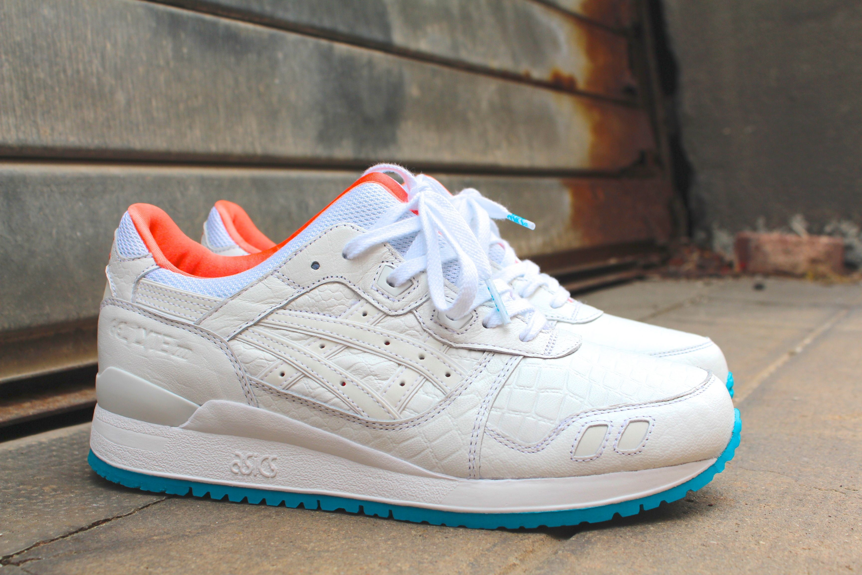 Women Men Asics Gel Lyte Iii Miami Vice Pack Sneaker
