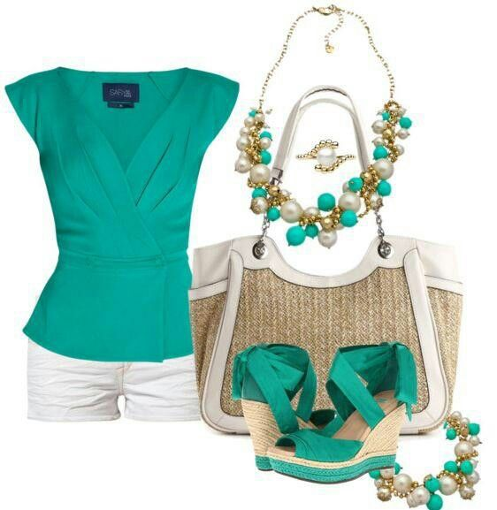 Live the tealish color on white
