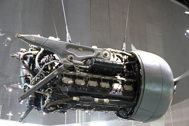 Db603 With Cowled Radiator In Front Subaru Aircraft