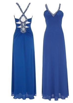 Kleid blau peek und cloppenburg
