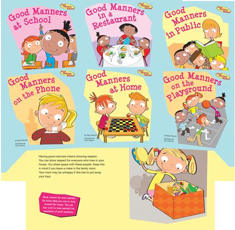 Good Manners Matter! Series Good manners, Manners, Kids
