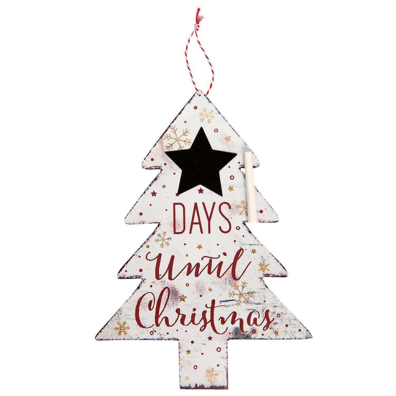 DAYS Until Christmas Blackboard Countdown Days until