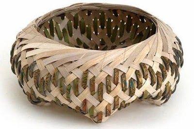 Woven Basket by KAREN WOODS