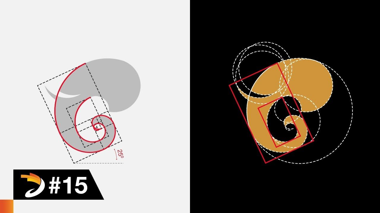 Adobe Illustrator Tutorial Simple Elephant Logo Design With Golden Ratio Elephant Logo Design Elephant Logo Illustrator Tutorials,Layout Interior Design Templates