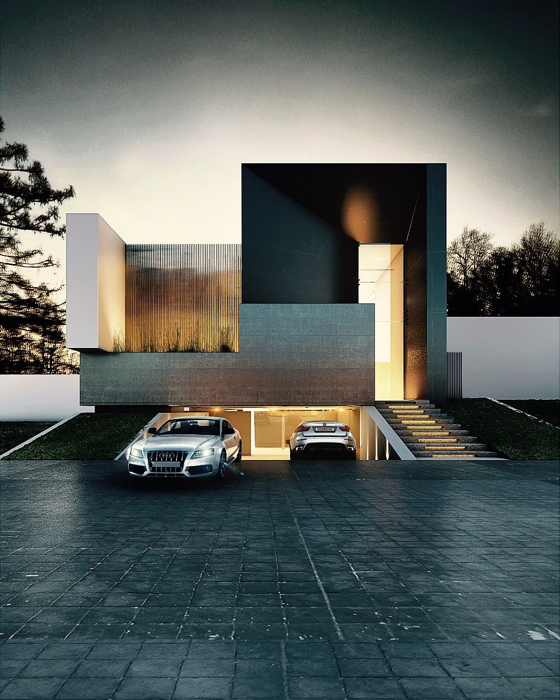Garage Design Architecture: TERRA HOUSE #ARCHITECTURE #FACADES #PROJECT