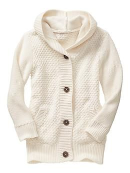 Factory chunky hooded cardigan | Gap | Wearables | Pinterest ...