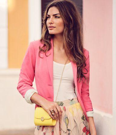 Blazer - Coral Pink