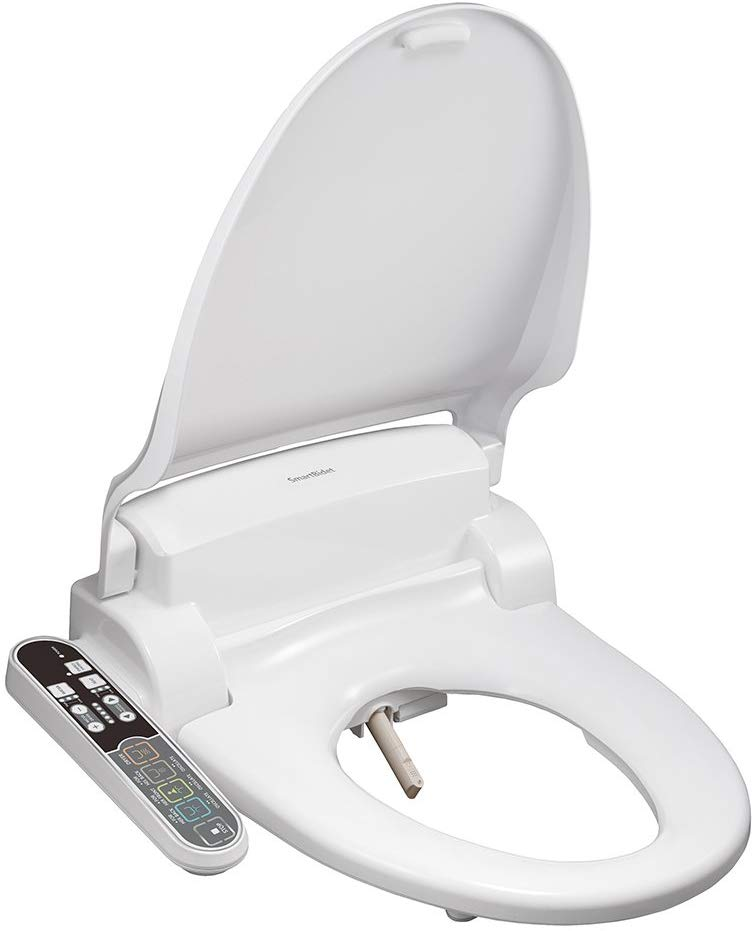 SmartBidet Electric Bidet with Heated Toilet Seat Heated