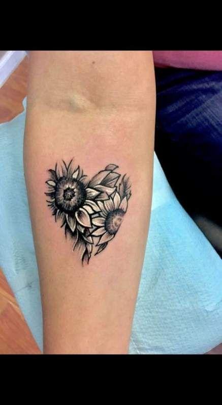 19+ ideas tattoo sunflower sleeve white ink