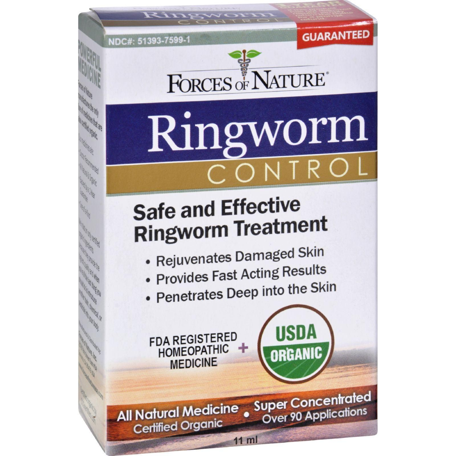 Forces Of Nature Organic Ringworm Control