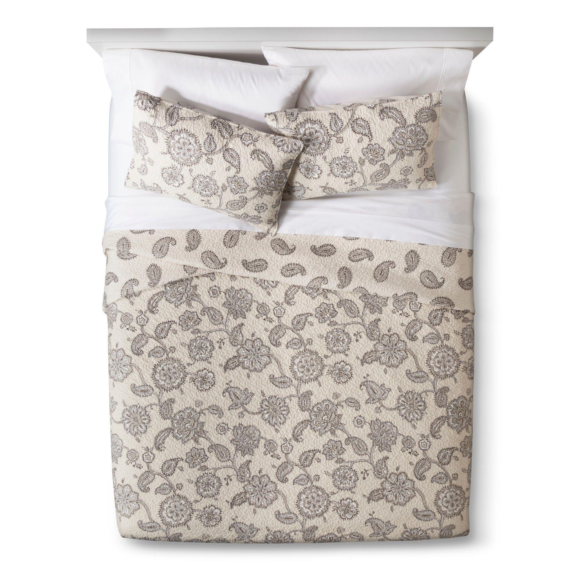 Jaipur quilt set cream fullqueen mudhut gray products