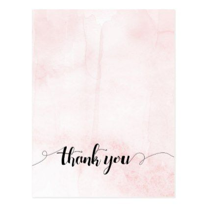 Thank You Postcard Thank You Gifts Pinterest Thank You