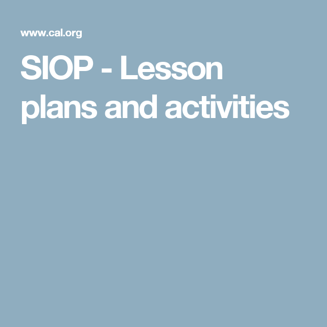 These Pearson Developed Lesson Plans Are A Great Resource They