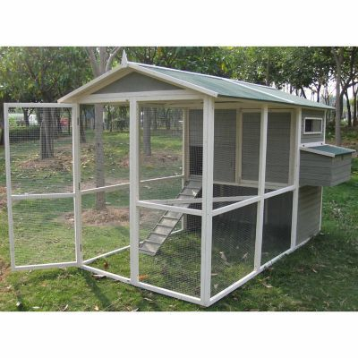 Precision Pet Products Tsc Old Red Barn Ii Coop Carb Compliant Pet Chickens Coops Chicken Coop Pet Chickens