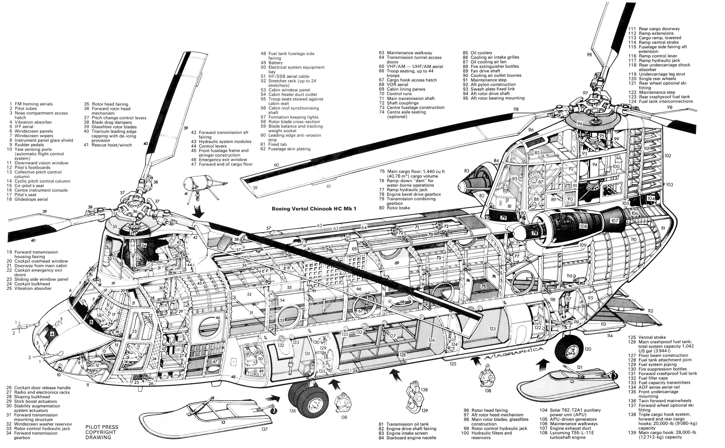 boeing ch 47 chinook chinook helicopters attack helicopter military helicopter military aircraft [ 2500 x 1544 Pixel ]