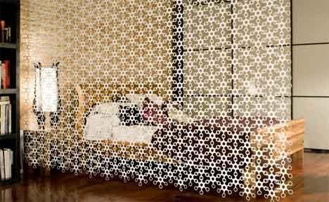 'Joyn' curtain/wall by Hiroshi Tsunoda