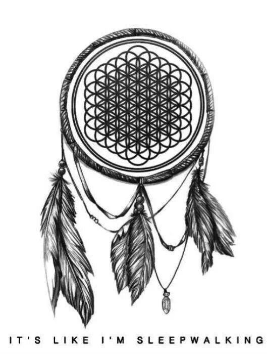 Bring Me The Horizon Dream Catcheralbum Logo Tattoo Tattoos And