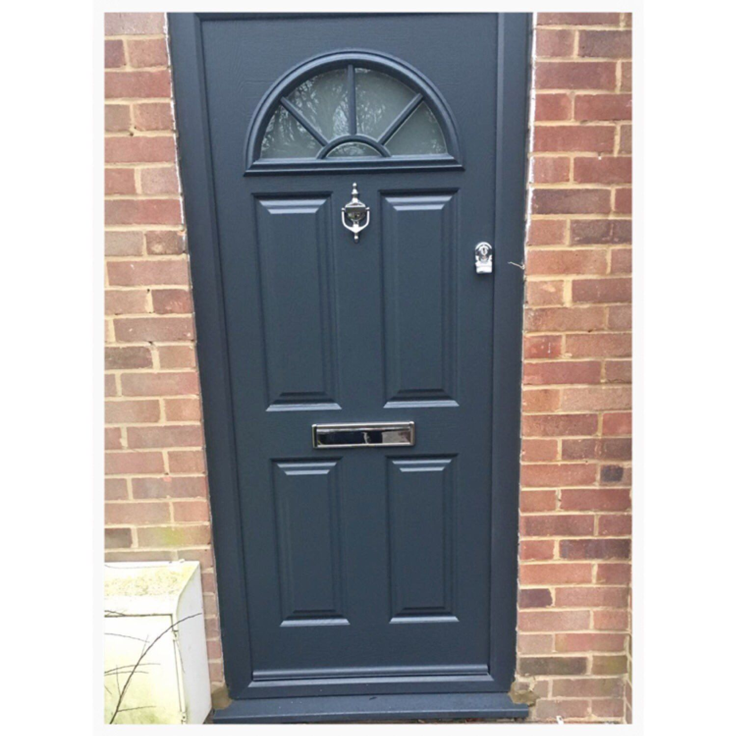 Put a modern twist onto a classic such as our Eiger Georgian with our Anthracite · A QuotesGeorgianFront DoorsTwists  sc 1 st  Pinterest & Put a modern twist onto a classic such as our Eiger Georgian with ...