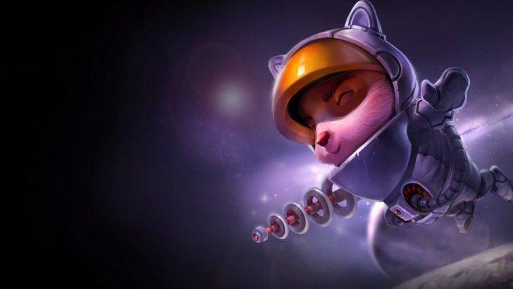 Download Teemo Astronaut Skin Splash Art League of Legends ...