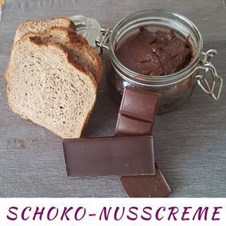 Schoko-Nusscreme - zuckerfrei und vegan -