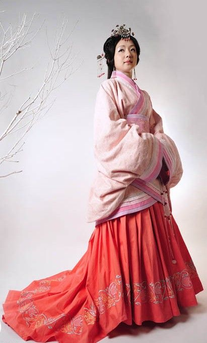 Ancient Chinese Han Dynasty Clothing For Women Full Skirt For The