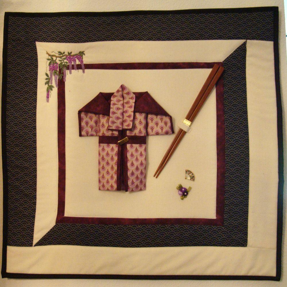 Kimono wall hanging by pixiediva on Etsy | Fabric/Yarn crafts ...