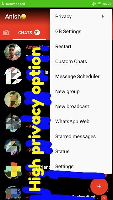 GB whatsapp apk latest version free download Messages