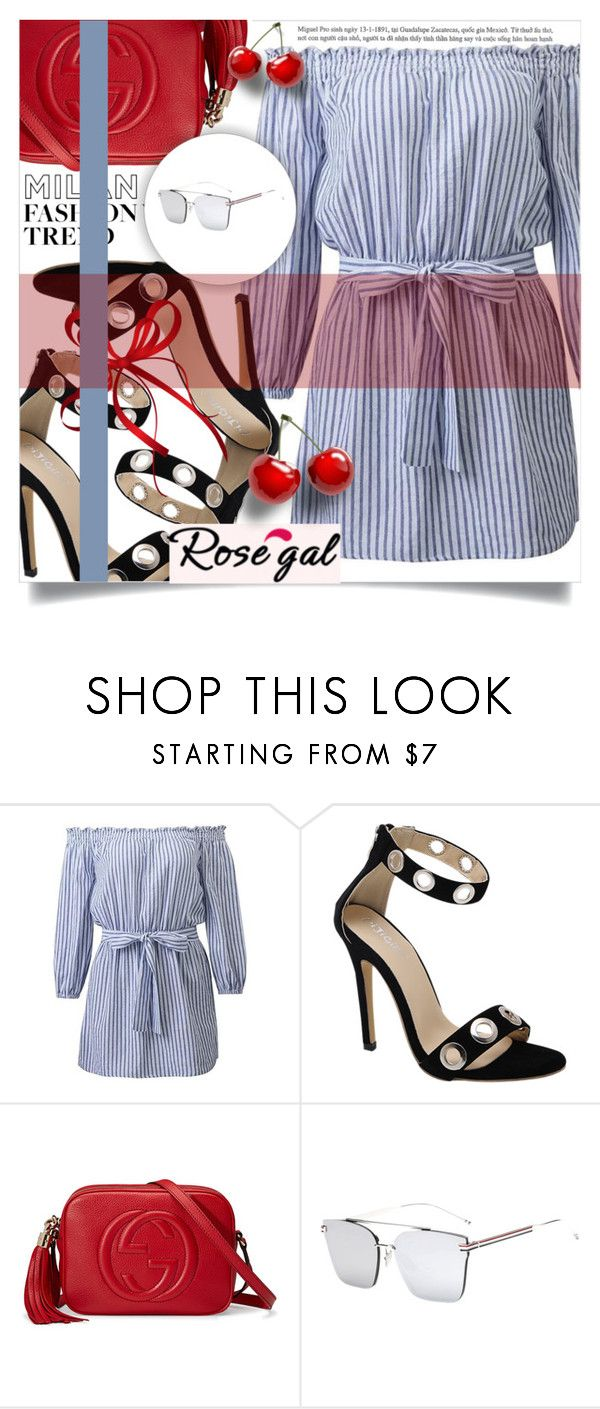 """Rosegal 21"" by amra-hadzic ❤ liked on Polyvore featuring Gucci and rosegal"