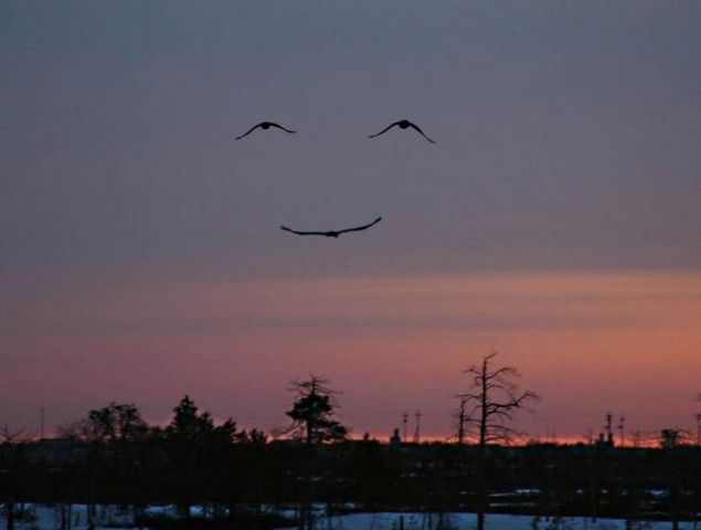 God works in mysterious ways, smile