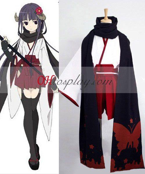 36bd0f36b31 Inu × Boku SS Ririchiyo Shirakiin Witch Cosplay Costume
