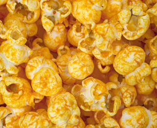 Cheesy Popcorn 7 g carbohydrate