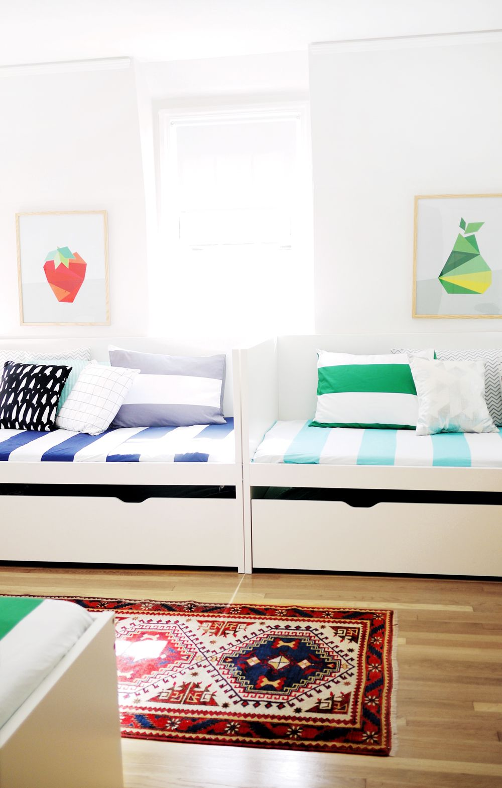 A Shared Bedroom For Seven Grandkids Project Nursery Kid Room Daybed Ikea Kids Bedroom Kid Room Decor