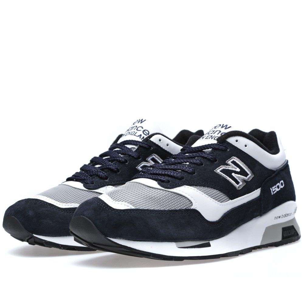 New Balance (NB) M1500NWG - Made In England Marine & Wit ...