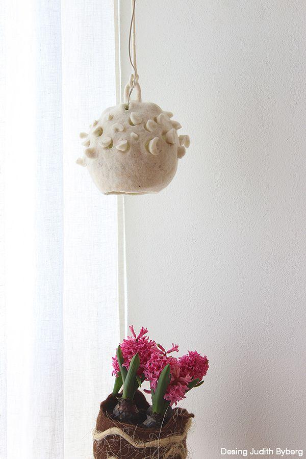Botrykos felt lamp 2014 on Behance