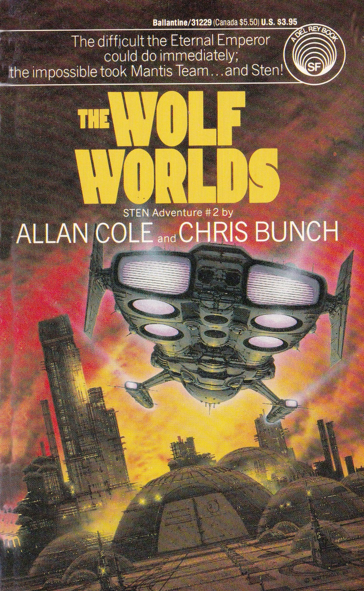 Clasicos Ciencia Ficcion Libros Alan Cole And Chris Bunch The Wolf Worlds Arte