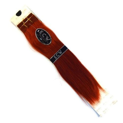 "18-20"""" Black N Gold ECW Human Weaving Hair, 135 Red Spice"