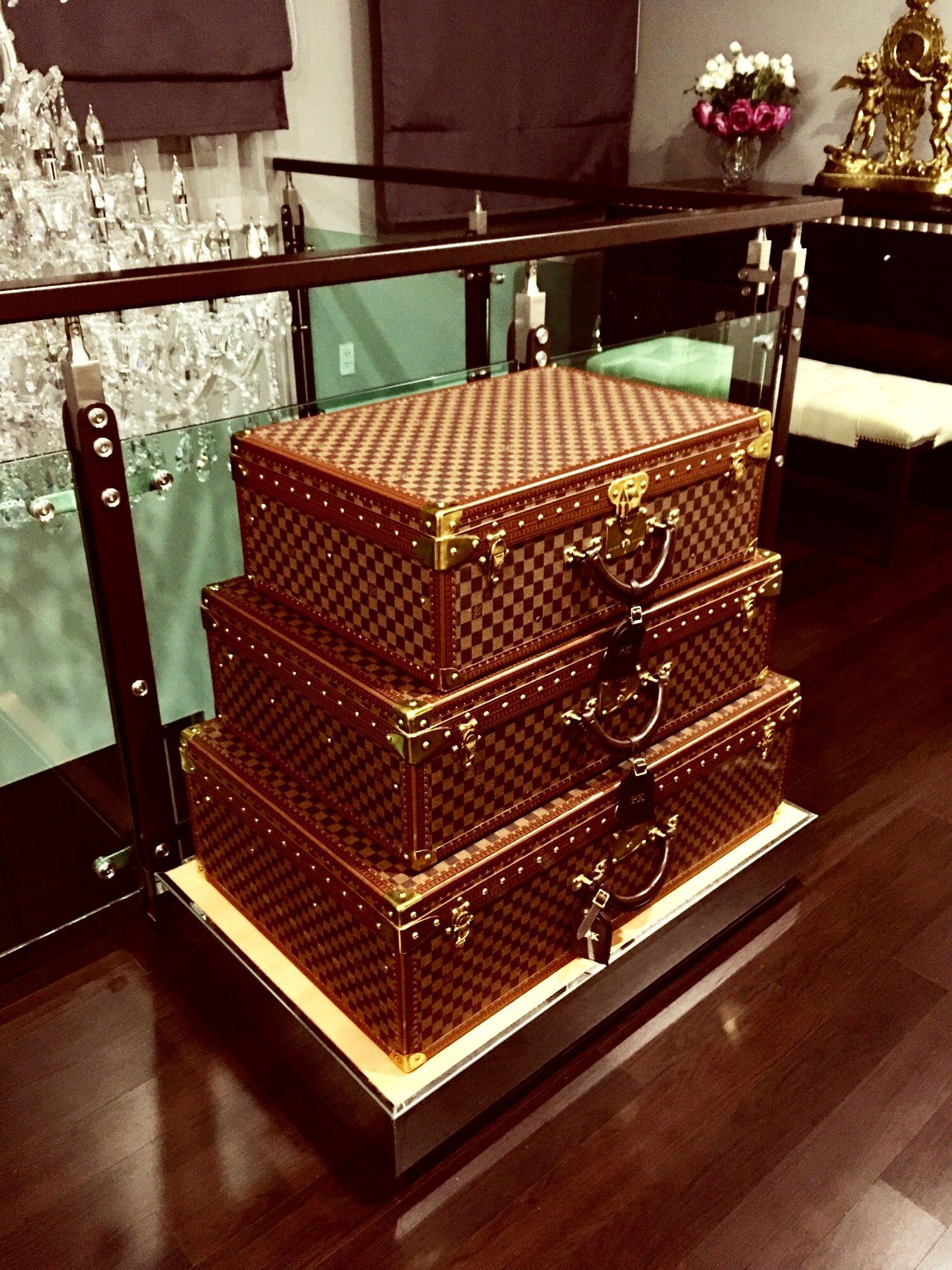 Louis Vuitton Monogram Suitcases Alzer 60 70 80 Kos Home Louis Vuitton Luggage Louis Vuitton Trunk Luxury Purses
