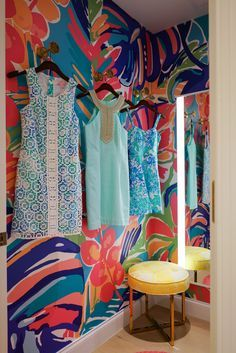 look into this pin-board... Lilly  Pulitzer ...totally T1 colors