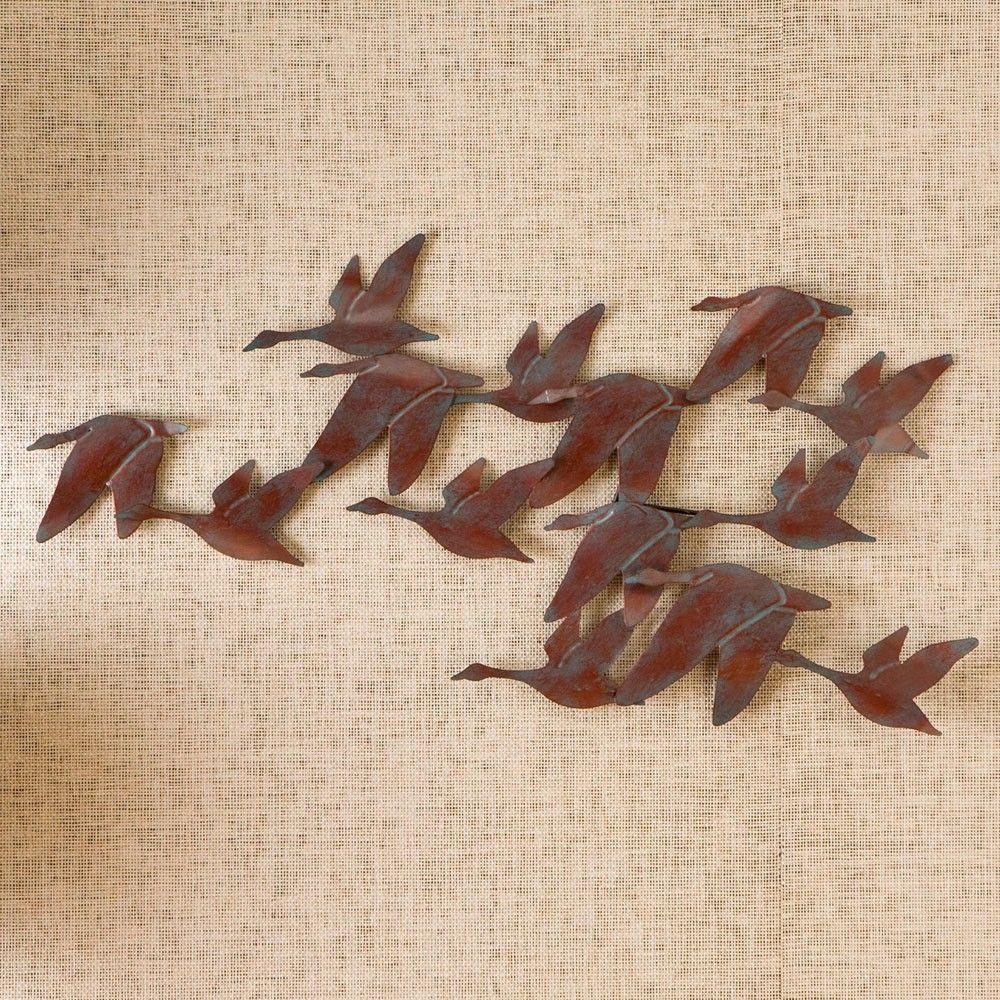 Southern Enterprises Flock of Geese Wall Art - Wall Sculptures   StudioLX