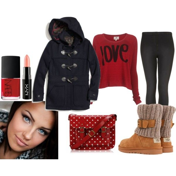 """""""casual winter weekend"""" by nenzio on Polyvore"""