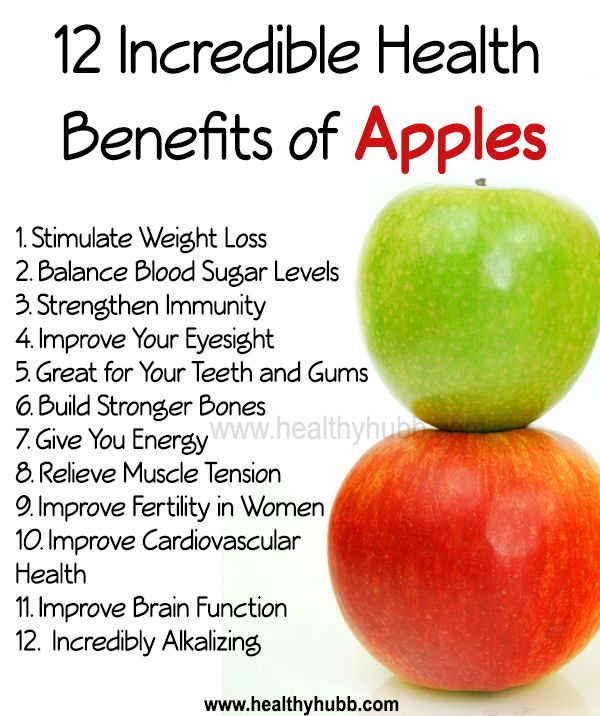 Image result for health benefits of apples