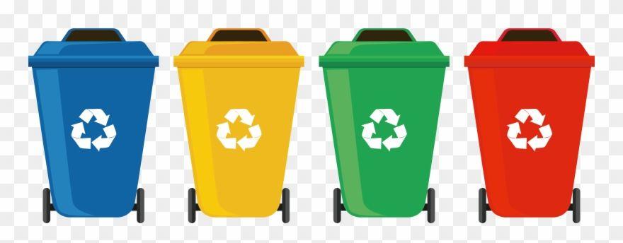 Garbage Clipart Wastebin Recycle Bins Png Transparent Png Recycling Bins Clip Art Bins