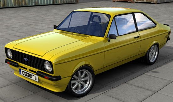 Dm Multimedia Ford Escort Mk2 Rs2000 Rs1800 Mexico